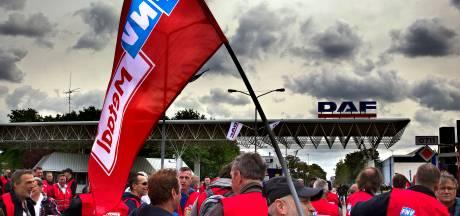 Vier dagen staking bij DAF Trucks in Eindhoven, 1000 stakers geregistreerd