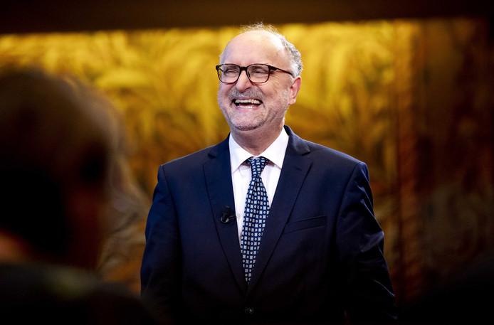 Paul Cliteur, fractievoorzitter van Forum voor Democratie in de Eerste Kamer