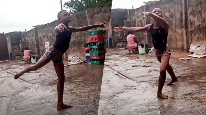 """Blootsvoets en in de regen danst jongen van 11 stereotypes weg: """"Ballet is niet alleen voor meisjes"""""""