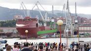 DEME wil eigen baggerschip weghalen uit scheepswerf, maar politie houdt hen tegen