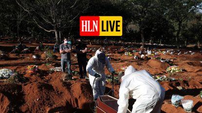 LIVE. Wereldwijd meer dan 350.000 doden door coronavirus - Kim Clijsters kan World Team Tennis voor (beperkt) publiek spelen