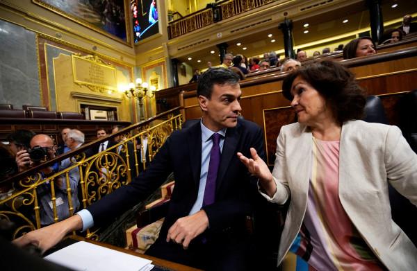 'Te **mannelijke**' grondwet verdeelt Spaanse politiek