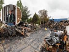 Bijna miljoen schade bij brand in Hasselt: 'We hadden het financieel net weer op de rit'