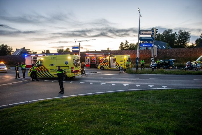 Ongeluk op de Randweg in Beren op Zoom