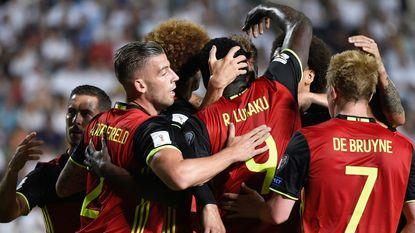 Opdracht volbracht: Martínez ziet Romelu twee keer scoren en Eden flitsen