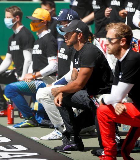 Hamilton reageert op statement: 'Het gaat om gelijkheid, niet om politiek of promotie'
