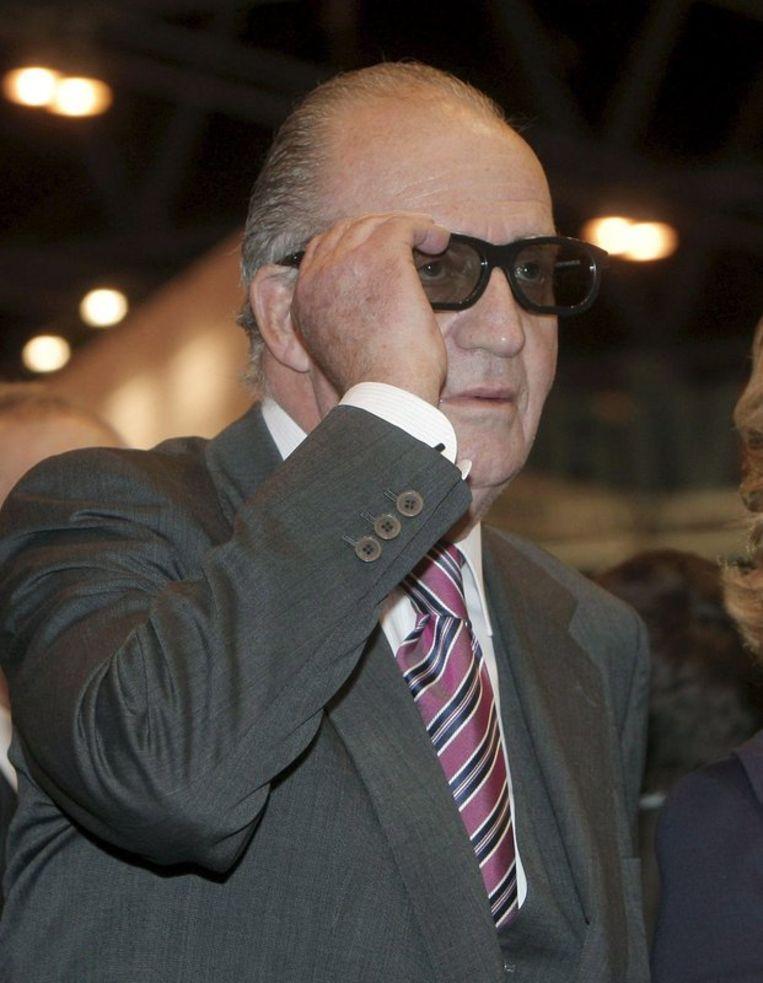 Juan Carlos I. Foto EPA Beeld