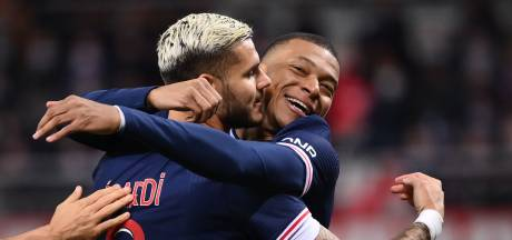 Icardi leidt PSG langs Reims