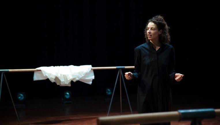 Khadija El Kharraz Alami in: Nu ben ik Medea. Beeld Casper Koster