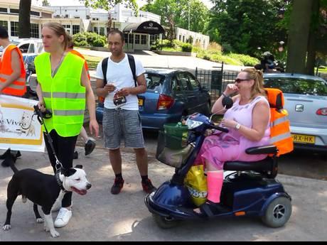 Protestmars van baasjes 'risicohonden' in Enschede
