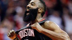 James Harden blinkt uit bij vierde zege op rij van Houston Rockets