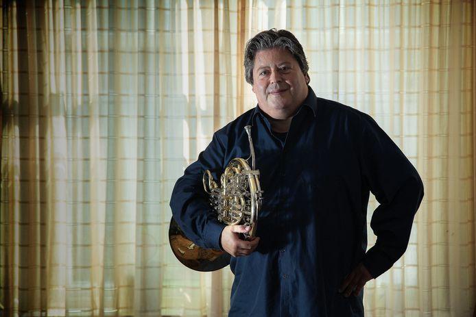 """Peter Hoeben: ,,Ik speel graag op de hoorn, maar het is een vak apart."""""""