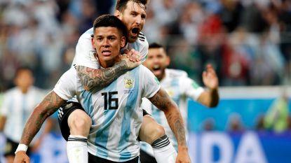Door het oog van de naald! Messi & Rojo Argentijnse helden na late zege tegen Nigeria, nu volgt kraker tegen Frankrijk