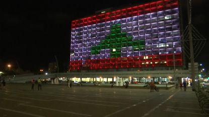 Toen stond de tijd even stil, landen herdenken slachtoffers in Beiroet
