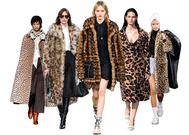 V.l.n.r: Marc Jacobs, Celine, Coach, Bottega Veneta en Alexander Wang. Beeld