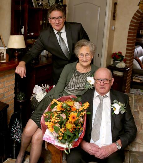 Echtpaar van Binsbergen viert gouden huwelijk