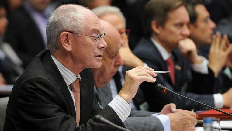 'EU-president' Herman van Rompuy. Beeld afp