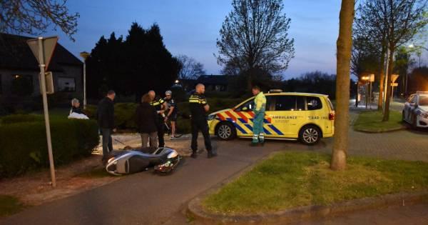 Skeelerster en scooterrijder ernstig gewond bij ongeluk in Bemmel.