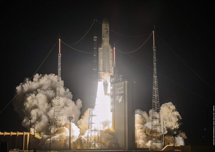 Lancering van de Ariane 5 vlucht VA253 half augustus.