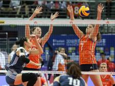 Volleybalsters naar finale Super Series
