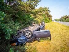 Vrouw gewond bij crash op A28 tussen Nunspeet en Harderwijk