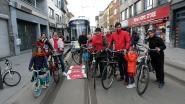 "PVDA blokkeert tram op Herentalsebaan:""Geef fietsers meer ruimte én veiligheid"""