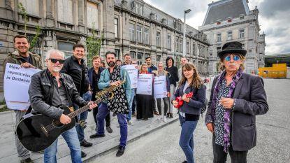 Crombez en Dubbe pleiten voor repetitielokalen in kelder Terminus