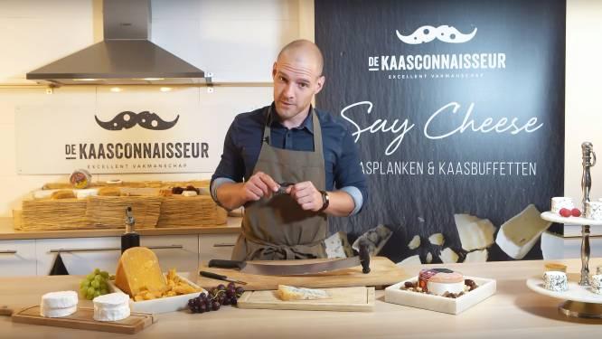"""Kaassommelier Nick wil met concept Vlaanderen veroveren: """"Bij elke kaasplank wat info, zoals Donald Muylle doet met zijn keukens"""""""