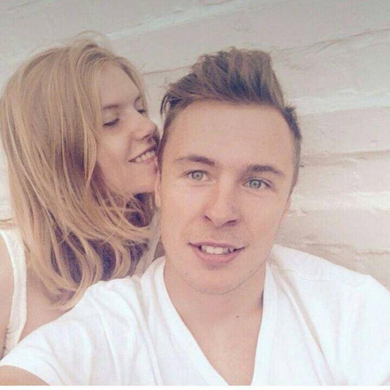 Thibault Schamp ontwaakte uit zijn coma, hier op de foto met vriendin Kiana.