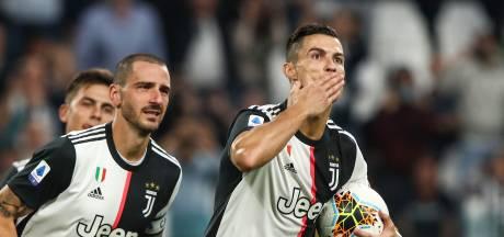 Juventus poetst zonder De Ligt wereldgoal Hellas Verona na rust weg