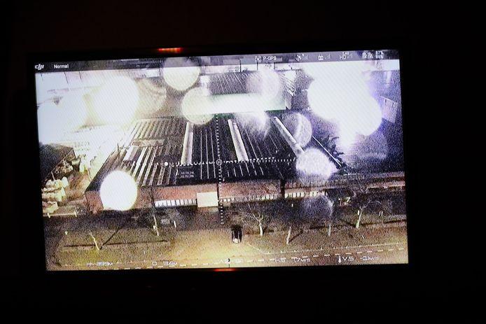 Dronebeelden van het bedrijfspand in Waalwijk.