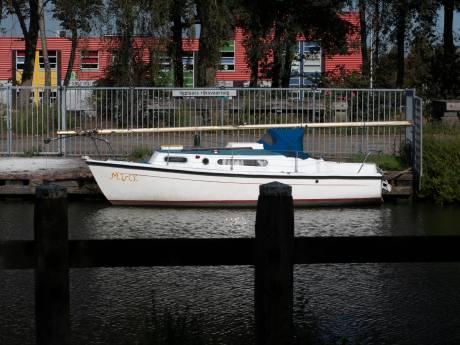 Lege boot in Helmond was mogelijk tijdelijke woning