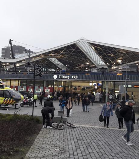 Traumahelikopter landt bij Station Tilburg, treinverkeer komt weer op gang