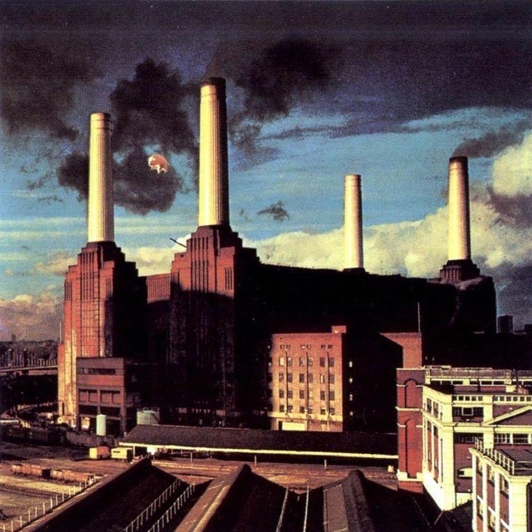 Een scan van de cover van het album Animals. Beeld