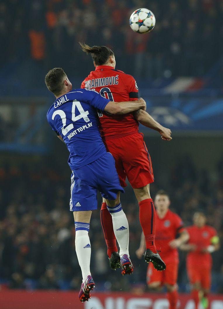 Ook vorig jaar troffen Chelsea en Paris Saint-Germain elkaar in de Champions League. Beeld ap