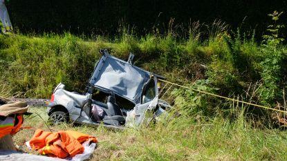 Fransman in levensgevaar na zware crash tijdens fout gelopen inhaalmanoeuvre