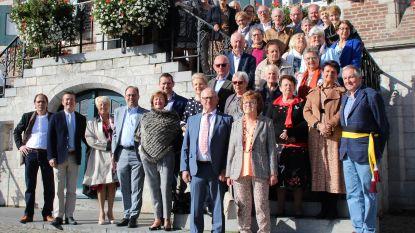 70-jarigen Zomergem vieren samen verjaardag
