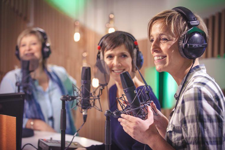 De Madammen - Radio 2 - Anja Daems, Cathérine Vandoorne en Britt Van Marsenille