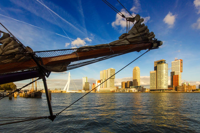 Fair Ferry is een wekelijkse veerdienst tussen Rotterdam en Londen per zeilschip. Beeld Sander Groen