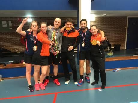 Badmintonners Harderwijk pakken achtste titel in tien jaar