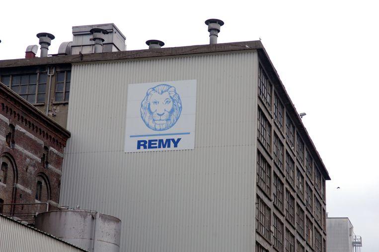De dief kon uiteindelijk helemaal niets stelen in het Remy-gebouw.