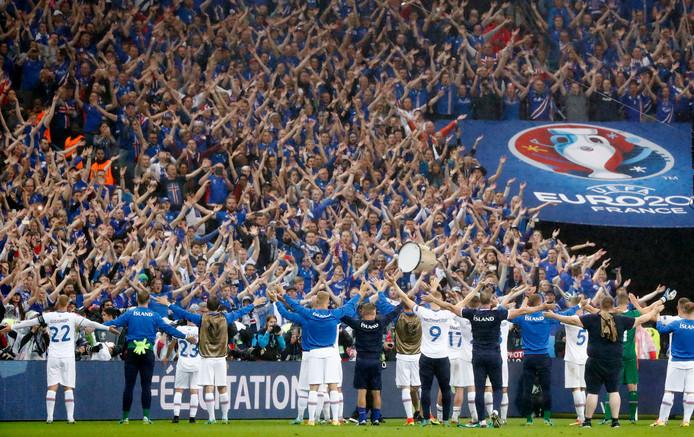 IJsland, één van de sensaties van het afgelopen EK