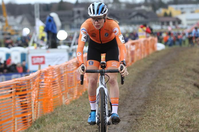 Yara Kastelijn in actie.
