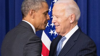 Obama geeft fundraiser Biden duw in de rug
