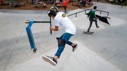 Nieuw skateboardpark meteen goed voor véél spektakel