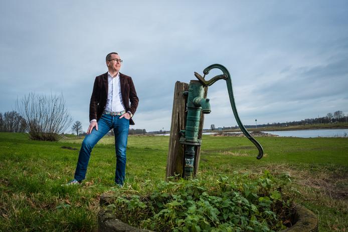 Herre Dijkema, directeur van VisitVeluwe: ,,De Veluwe heeft immers veel meer te bieden dan alleen de geijkte bestemmingen. Een voorbeeld daarvan is de IJsselvallei - ja, ook dat gebied hoort bij de Veluwe.''