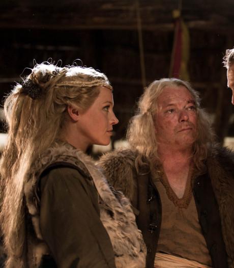 Loes Haverkort slaat er op los als Deense prinses Frea in filmepos Redbad