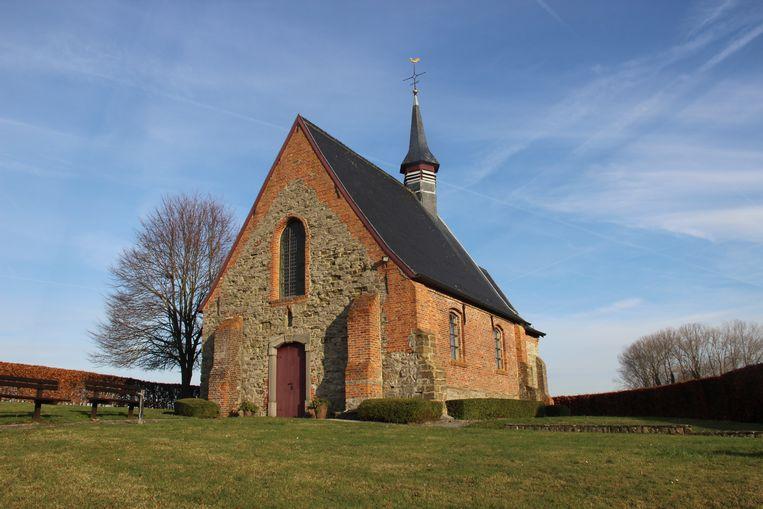 Uit de kapel worden wel vaker spullen gestolen.