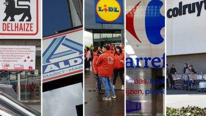 Deze compensaties en/of premies liggen in het verschiet voor personeel supermarkten