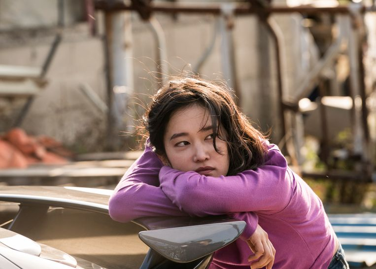 Jeon Jong-seo als Hae-mi in de film Burning.  Beeld Flimstill Burning
